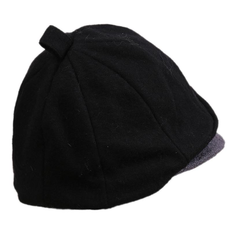 hatson女帽 韩版冬季新款韩版潮流运动帽休闲帽帽子SBRFAH3408BK