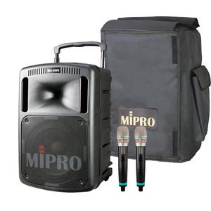 台湾咪宝MIPRO MA808无线扩音器 无线扩音机 拉杆音箱 咪宝音响