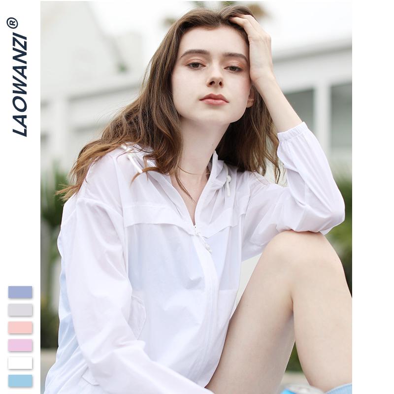 新款防紫外线情侣薄透气皮肤衣 骆驼联合女装防晒衣女外套  LWZ 2020