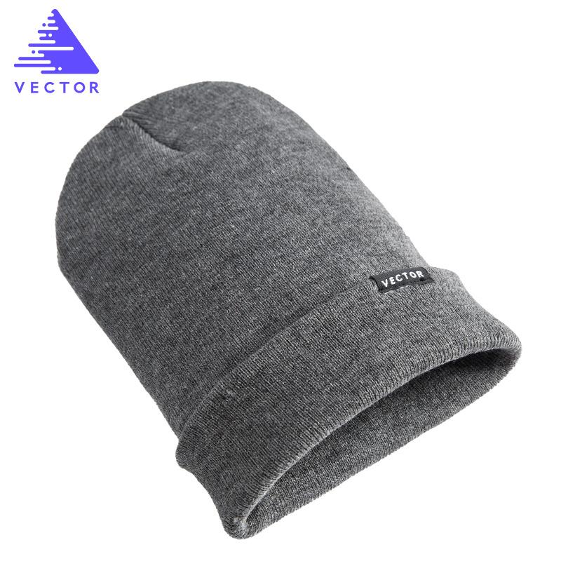 VECTOR滑雪帽針織帽冬天戶外帽子冬季情侶帽加厚保暖冬帽