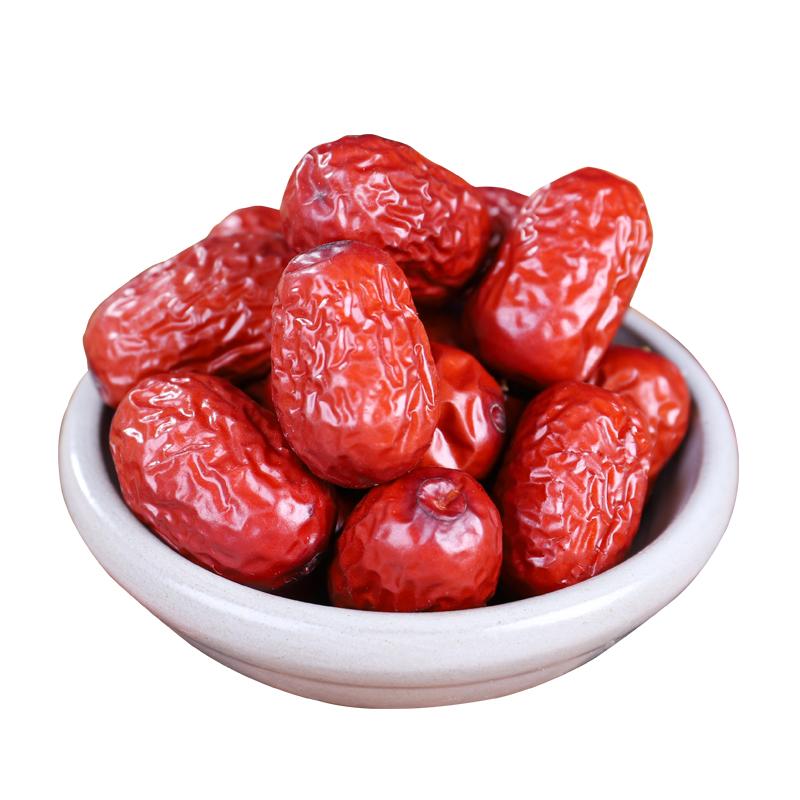红枣新疆特产灰枣红枣干大红枣若羌灰枣枣子5斤大枣非特级和田枣