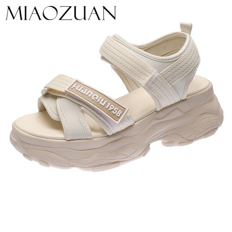 【妙钻】夏季新款运动老爹凉鞋