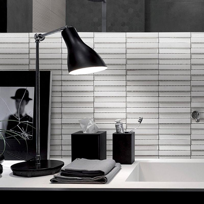 玻璃水晶马赛克瓷砖玻璃砖石材马赛克简约大气背景玄关浴室卫生间