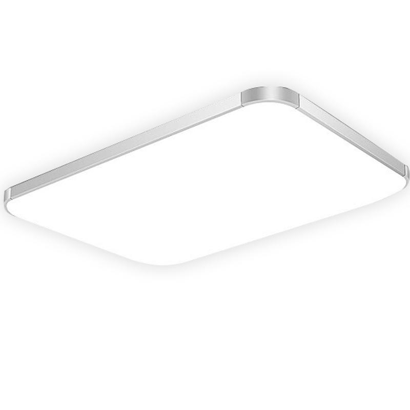 LED吸顶灯现代简约大气长方形客厅灯具 卧室书房阳台餐厅家用吊灯