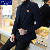 2019 autumn and winter woolen suit men's casual suits Slim Korean trend handsome single coat jacket