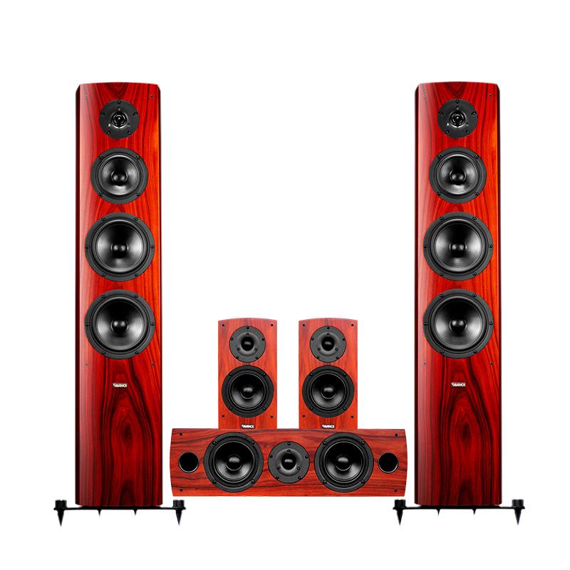 环绕音箱套装 5.1 丹麦皇冠家庭影院音响套装组合客厅 3 Dana 电影ANCE