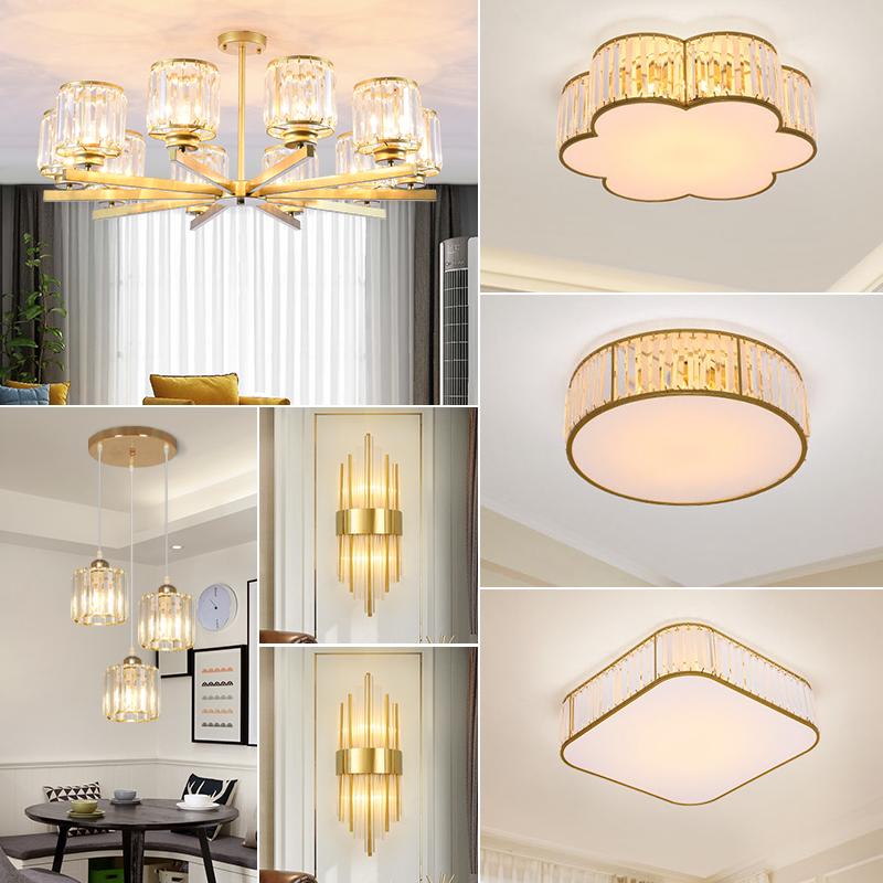 室餐厅灯现代大气全屋套餐灯具