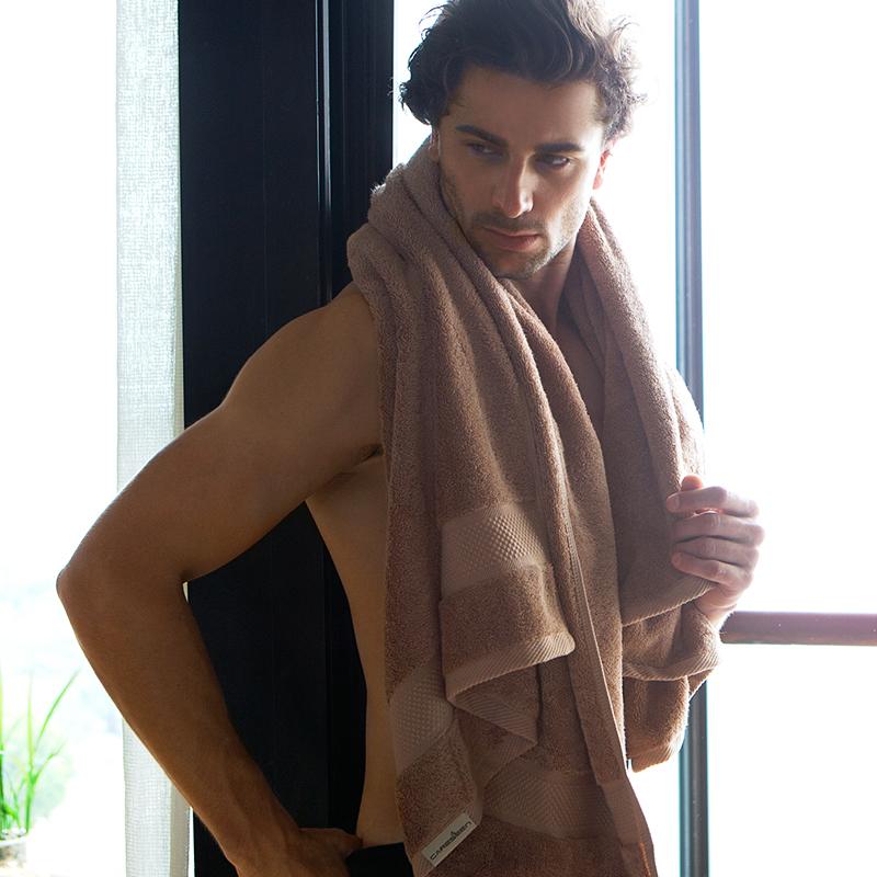 康尔馨五星级酒店浴巾纯棉成人加大加厚女性感情侣吸水柔软大毛巾