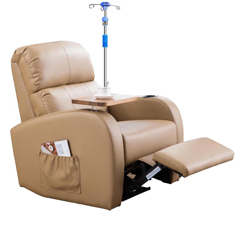 输液沙发椅医院用高档输液椅单人豪华诊所点滴椅子可躺电动多功能
