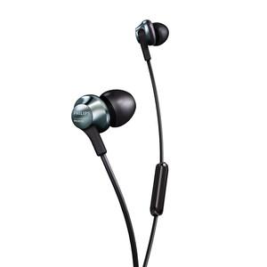 Philips/飞利浦 PRO6105耳机入耳式有线双重低音Hi-Res认证HiFi发烧耳塞男女生通用高音质音乐跑步线控耳麦