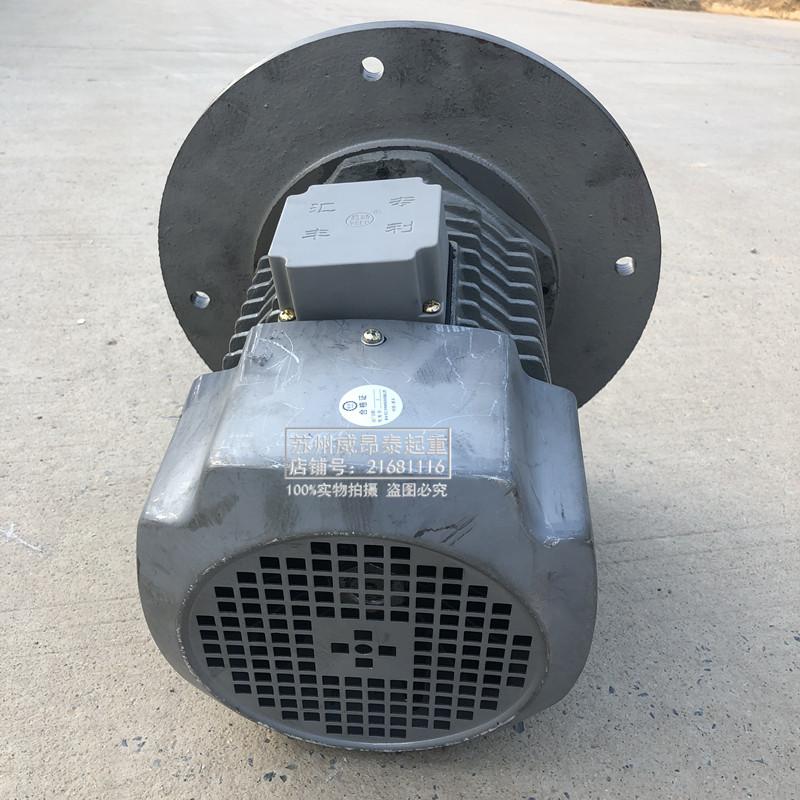 新乡市汇丰特种机电YSEP-4 3.0KW特大口软起动电机配LDH400行车轮 - 图2