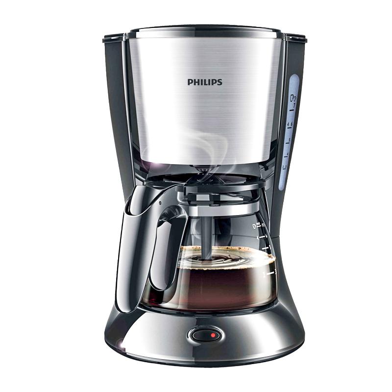 Philips/飞利浦 HD7434美式全自动煮咖啡壶防滴漏咖啡机家用 小型