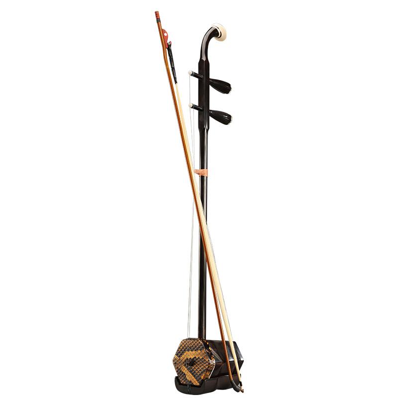 8726 专业演奏黑檀二胡大人通用六方木轴二胡 北京星海二胡乐器