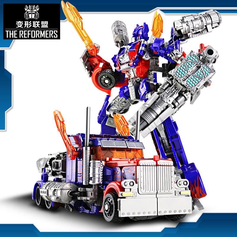 手办合金变形玩具金刚5大黄蜂电影汽车机器人电影模型儿童男孩6