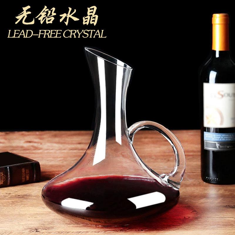 醒酒器 水晶玻璃个性醒酒器套装无铅红酒分酒器红酒壶瓶家用欧式