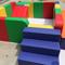 儿童软体台阶球池步梯软包楼梯婴幼儿宝宝防撞三步梯围栏彩虹梯
