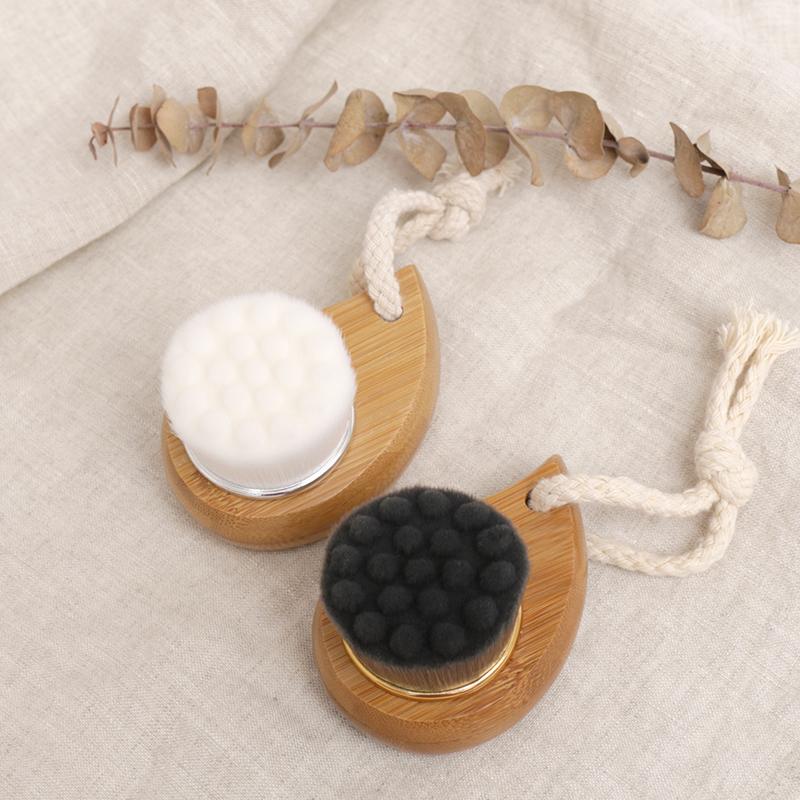 手动竹炭洗脸刷子洁面仪去黑头清洁毛孔脸部洁颜洗面刷洁面刷杪林