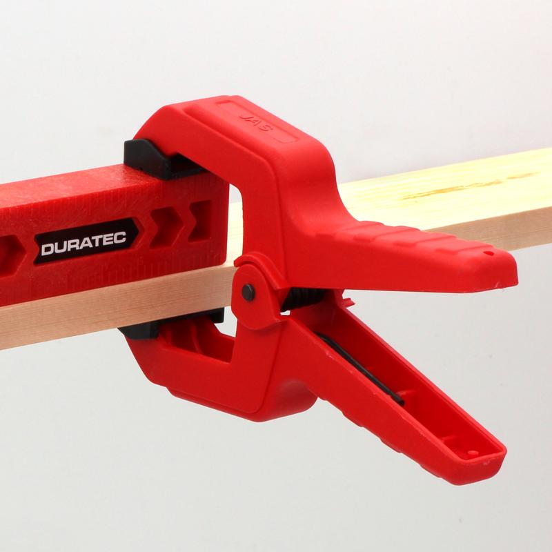 正品DURATEC强力a字夹木工夹具工具固定夹子g型c形大力diy弹簧夹
