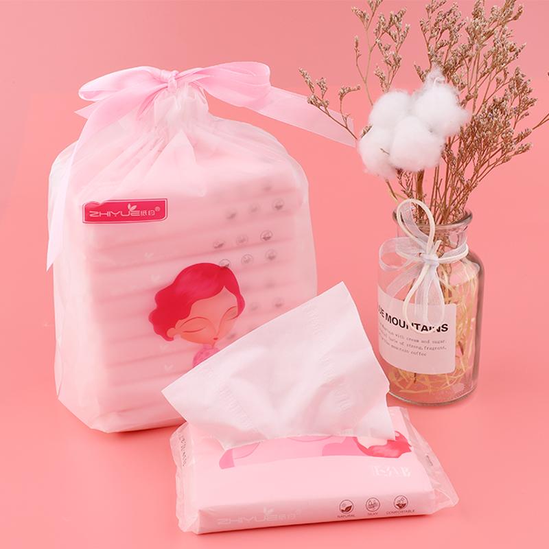 纸约婴儿乳霜纸巾新生儿柔纸巾宝宝保湿纸巾云柔巾便携抽纸10包装