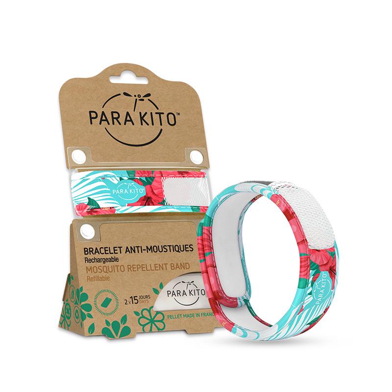 法国ParaKito帕洛 驱蚊手环成人儿童随身防蚊 虫扣贴户外神器室内