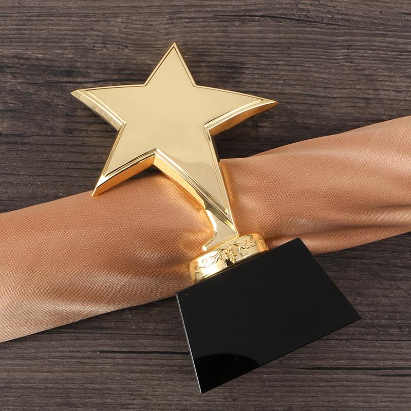 儿童奖杯小奖杯免费刻字 五角星奖杯定做 金属奖杯 水晶奖杯定制