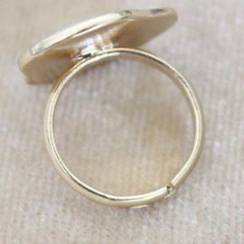 贵贵荷包蛋戒指邓伦荷包蛋戒指精品饰品可爱少女送给吃货的礼物夏