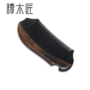 谭木匠牛角梳CGHJ0602天然发梳按摩梳 角木梳子美发长发梳子