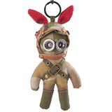 RIMIX Military Tactical Rabbit Camo Steampunk Wind Key Elf Pendant Car Backpack Keychain