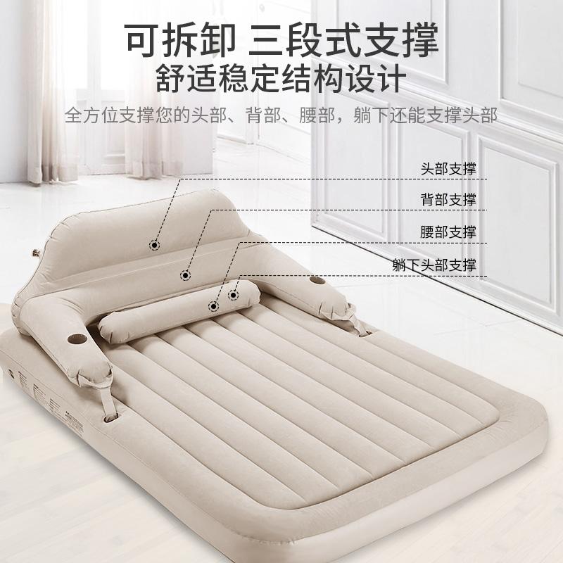 可折叠加厚空气床便携户外午休 充气床垫单人气垫床双人家用 Zray