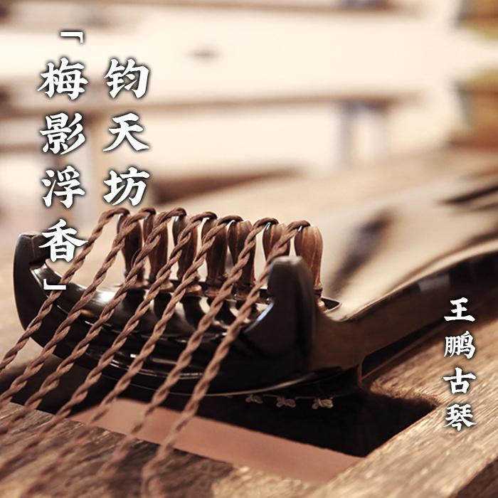 纯手工收藏级专业演奏级王鹏工作室琴 梅影浮香 王鹏古琴 钧天坊