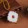 玉缘扬州玉器厂青年设计师款 青海白玉昆仑玉创意平安扣挂件玉坠 mini 1