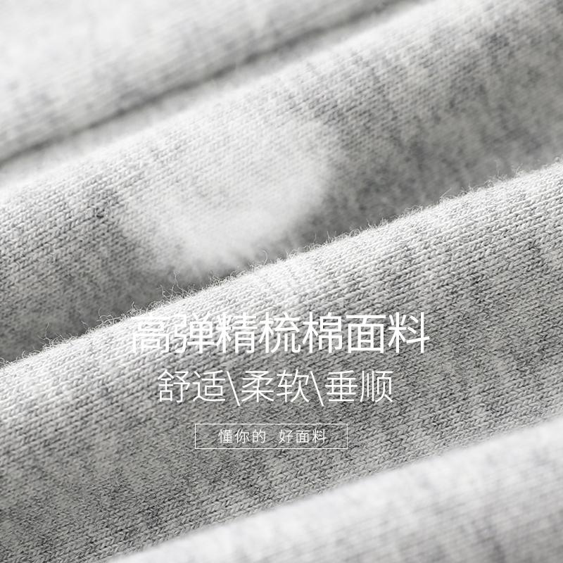 2019秋冬季新款打底裤女外穿薄款九分秋裤女内穿棉裤灰色加绒加厚