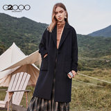 G2000 women's business and leisure OL commuter temperament simple wool coat woolen coat