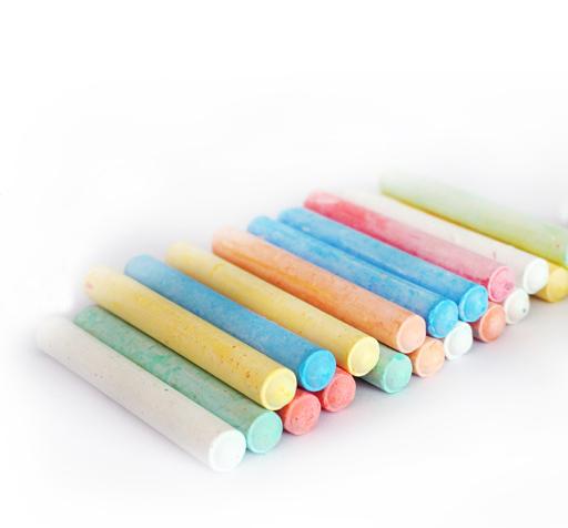 水溶性粉笔/无尘环保粉笔/黑板贴/教学粉笔/绿板贴用儿童涂鸦粉笔
