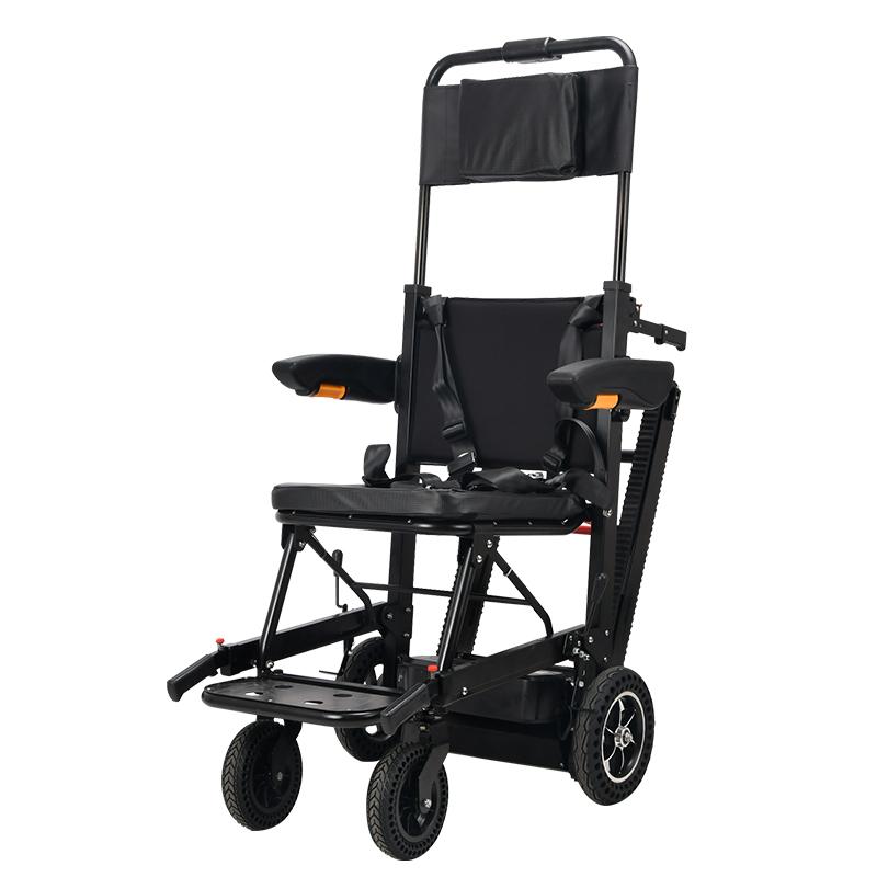 电动爬楼轮椅履带智能上下楼梯折叠车老人轻便爬楼机上楼梯轮椅