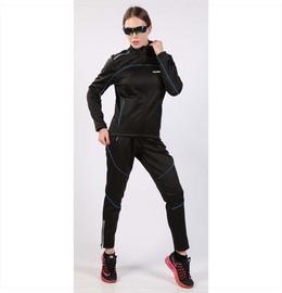 秋冬季骑行服套装男女款抓绒保暖长袖长裤户外凳山服摩托车运动服