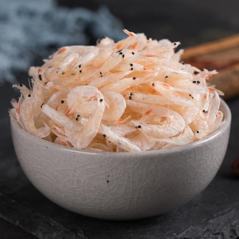 特级淡干无盐即食虾皮虾米海米虾皮粉补钙宝宝辅食水产干货250g
