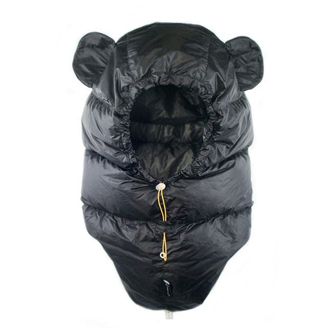 Friendly Icefalme Black Bear Pars Ear Powder Camp Warm Lei Feng Cap Outdoors Climb Windproof Down Hat