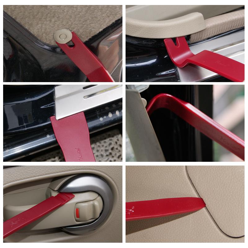 汽车音响拆装工具塑料撬棒门板拆卸导航拆车撬板内饰翘板卡扣起子