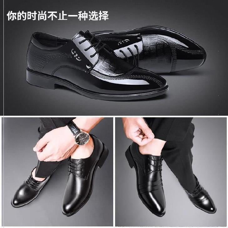 流行春秋男轻便婚礼鞋休闲装学院风男鞋夏季2020新款商务皮鞋可爱