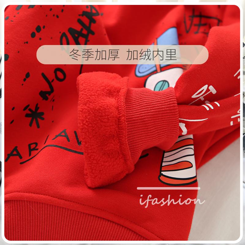 亲子装卫衣母女装春秋 新款潮洋气韩版秋装加绒网红女童秋冬装  2020