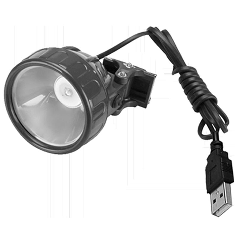 接口蓝光灯头黄光灯头白光灯头拉饵灯饵料灯 USB 钓鱼灯夜钓灯超亮