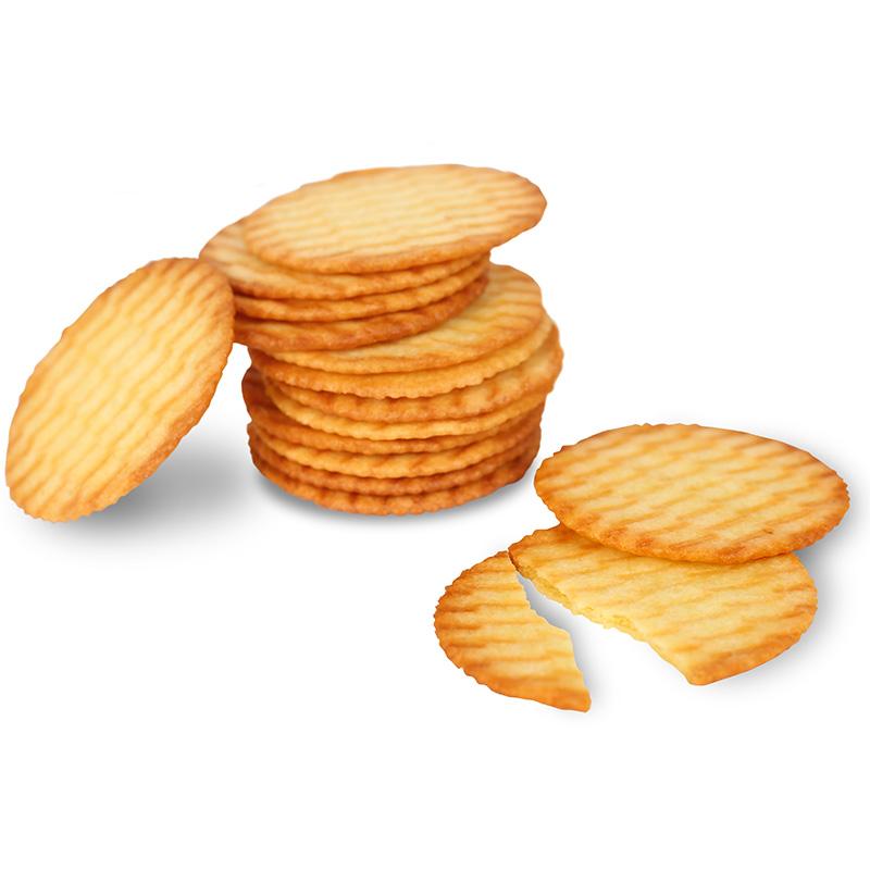 伟龙鲜奶薄饼180g含糖薄脆薄饼小包饼干包邮脆片散装代餐怀旧