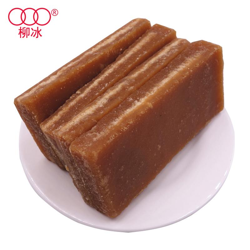 柳冰 5斤冰红糖土红糖块黄糖广西甘蔗冰片糖酵素用红片糖散装