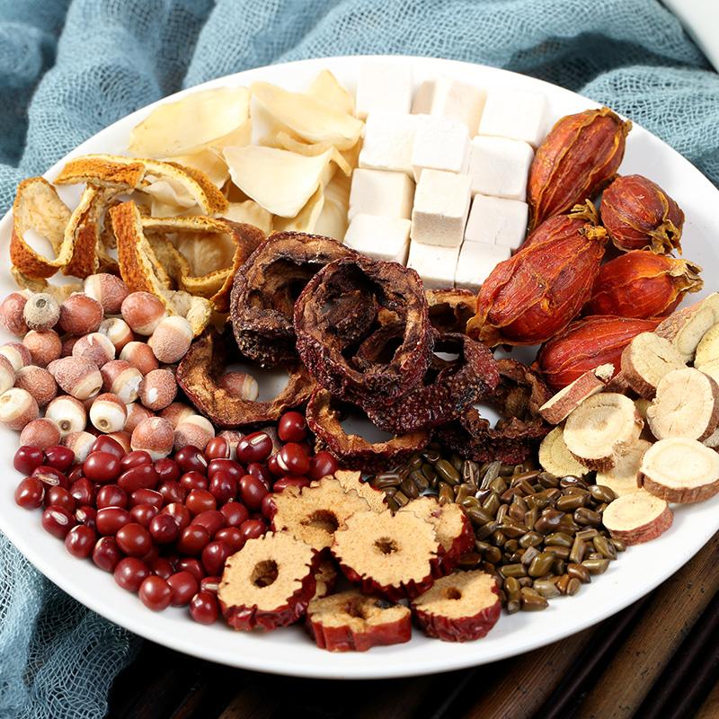 红豆薏米祛茶茯苓薏米排体内除气重去气养颜养生男女去茶