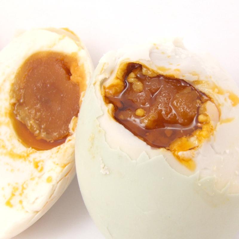 春宝牌咸鸭蛋高油包邮70克20枚红心流油洪泽湖特产即食非烤海鸭蛋