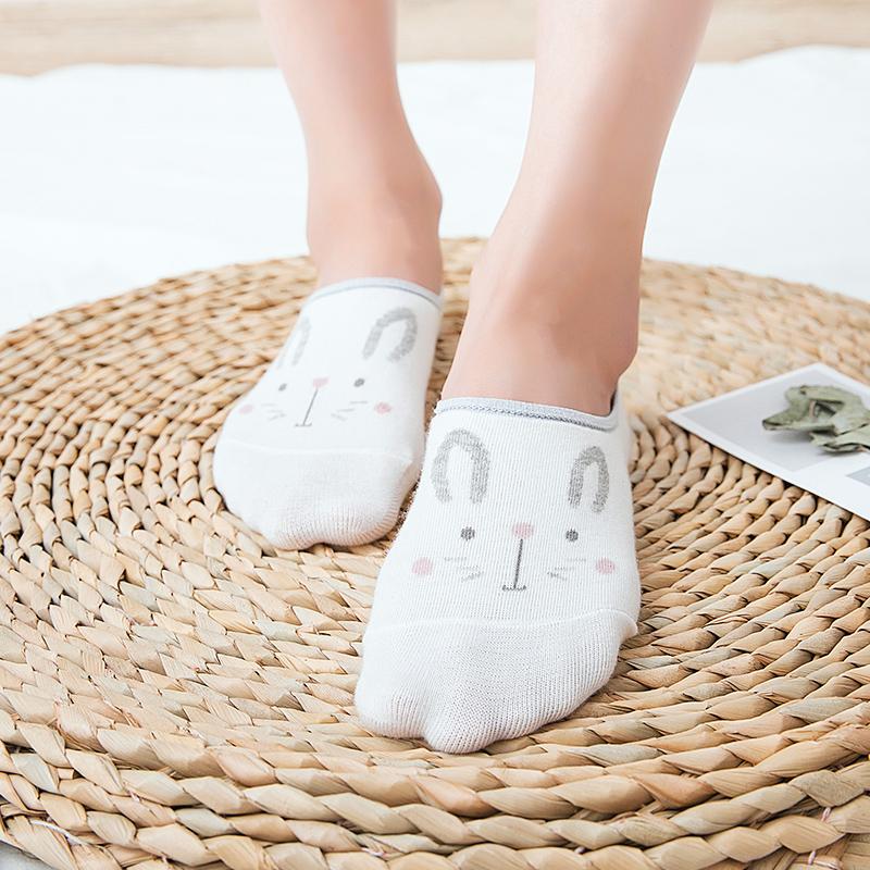 袜子女短袜浅口日系可爱船袜女士中筒袜韩版秋冬季新款棉袜ins潮