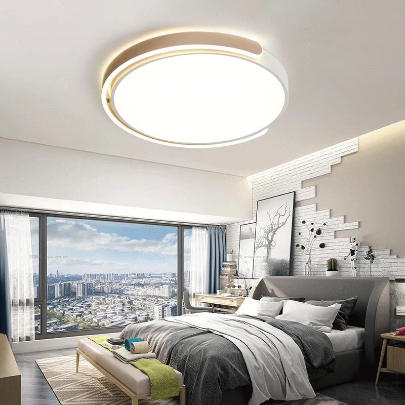 大气家用书房客厅灯具 led 壹朵卧室灯简约现代创意个姓北欧吸顶灯