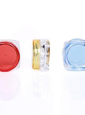 3g克方底面霜盒乳液面霜分装瓶化妆品护肤品膏霜试用装小样瓶小盒