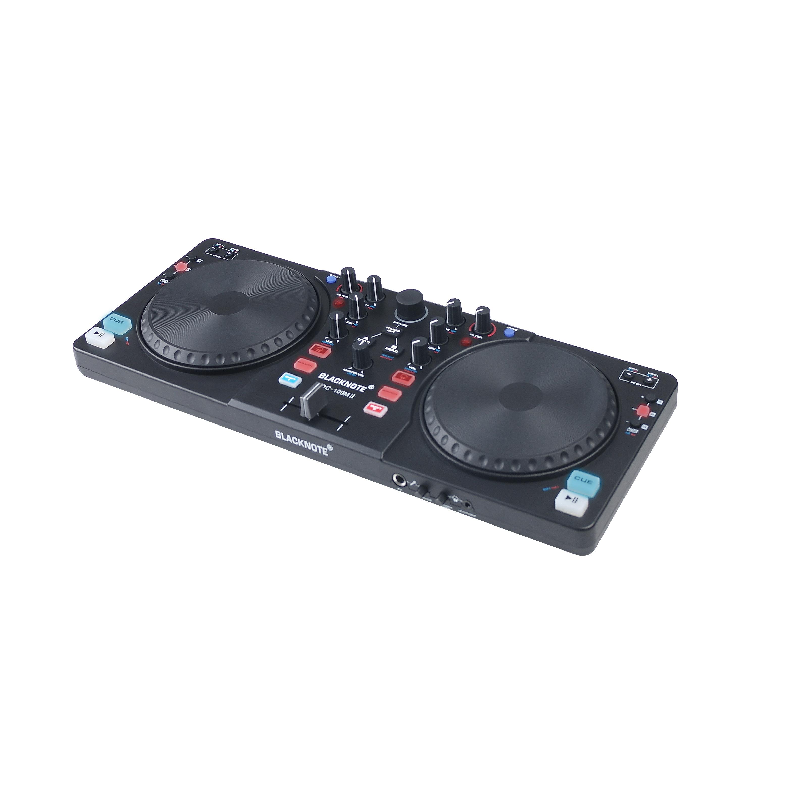 控制器电脑打碟机混音 MIDI 控制器 DJ 数码打碟机 BLACKNOTE 意大利
